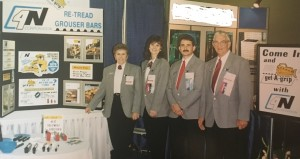 The four Nerlichs, (4N) at their first trade show, September, 1994.